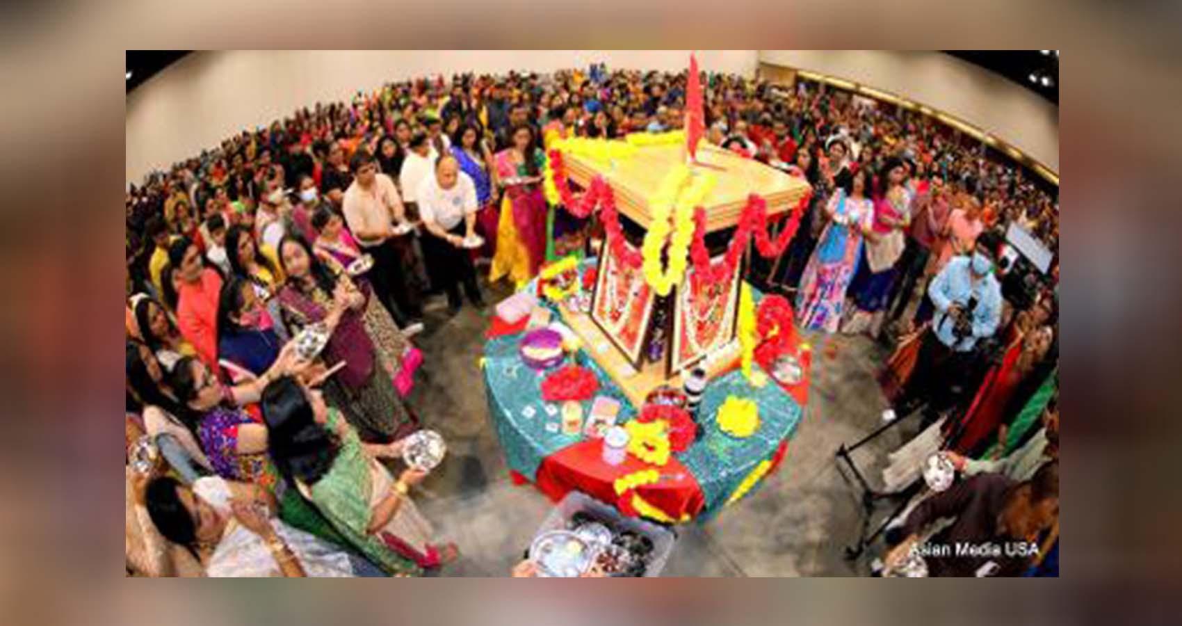 Shree Jalaram Mandir Raas Garba Ramzat Turns Chicagoland Devotional