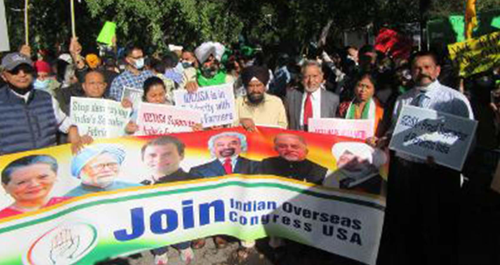 Multiple Protests Held As Modi Speaks At UN