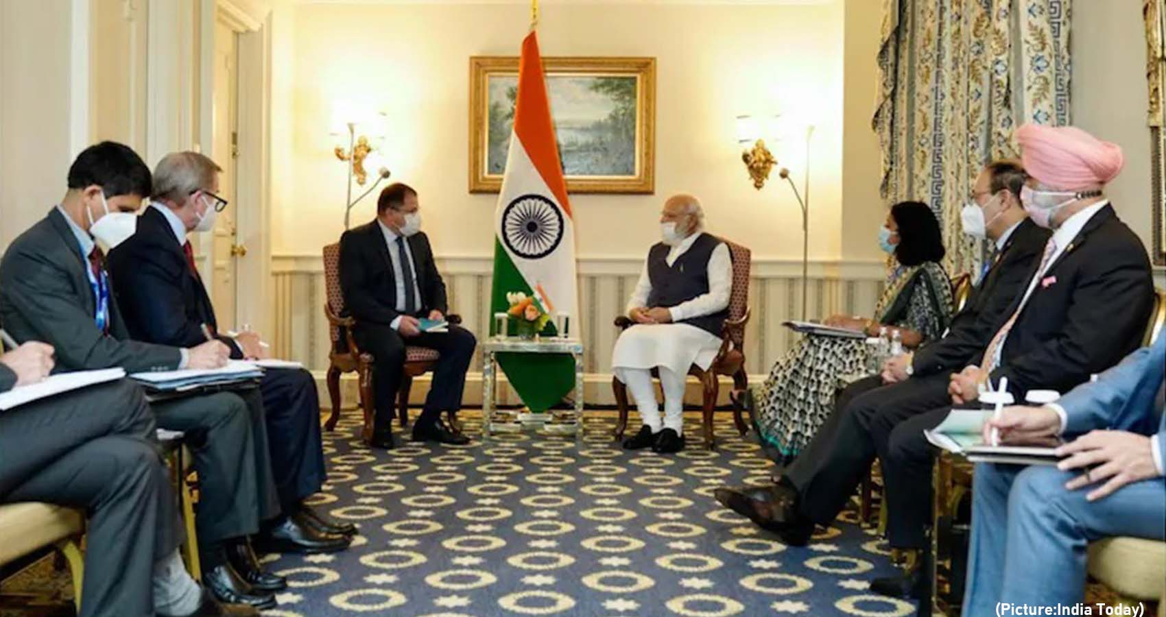 In Meeting With CEOs, Modi Urges Investment in India