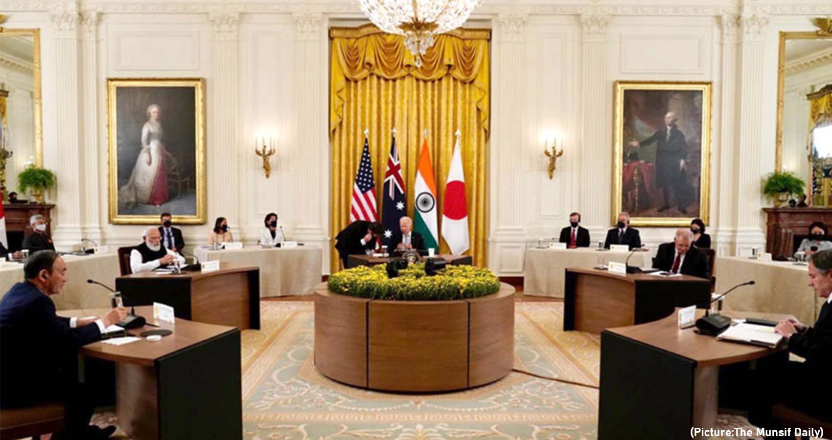"""The Quad Is """"A Force For Global Good"""" Says Modi"""