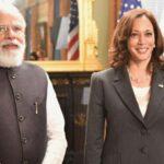 Prime Minister Modi Meets With Vice President Kamala Harris