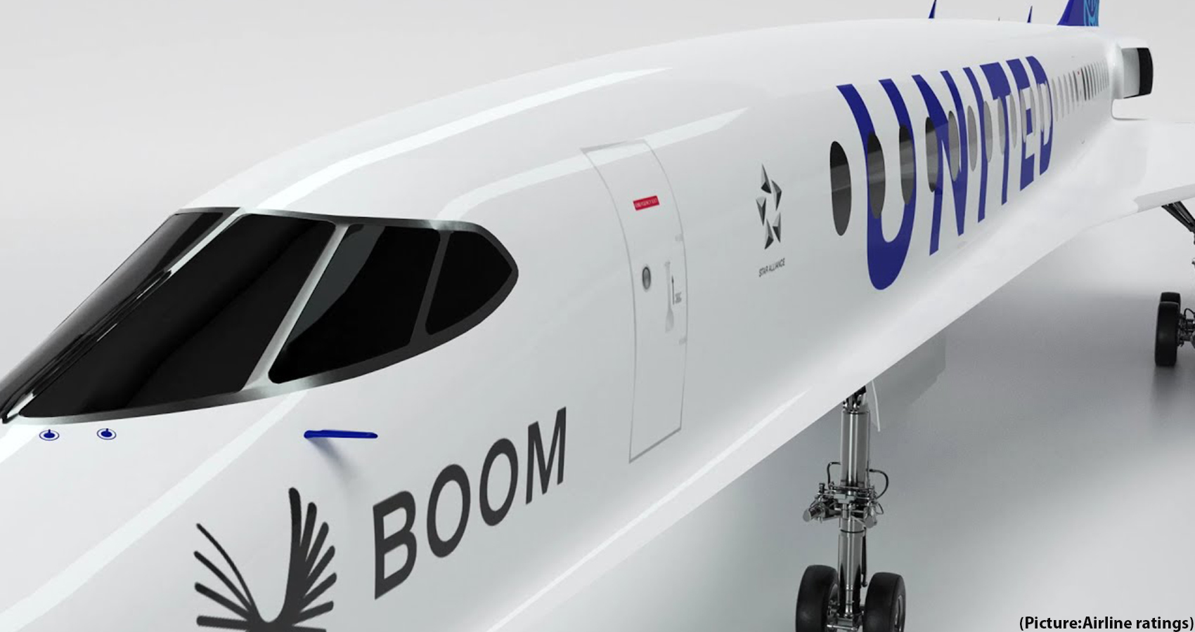 United Airlines Plans To Purchase 15 Supersonic Overture Jets From Boom Supersonic
