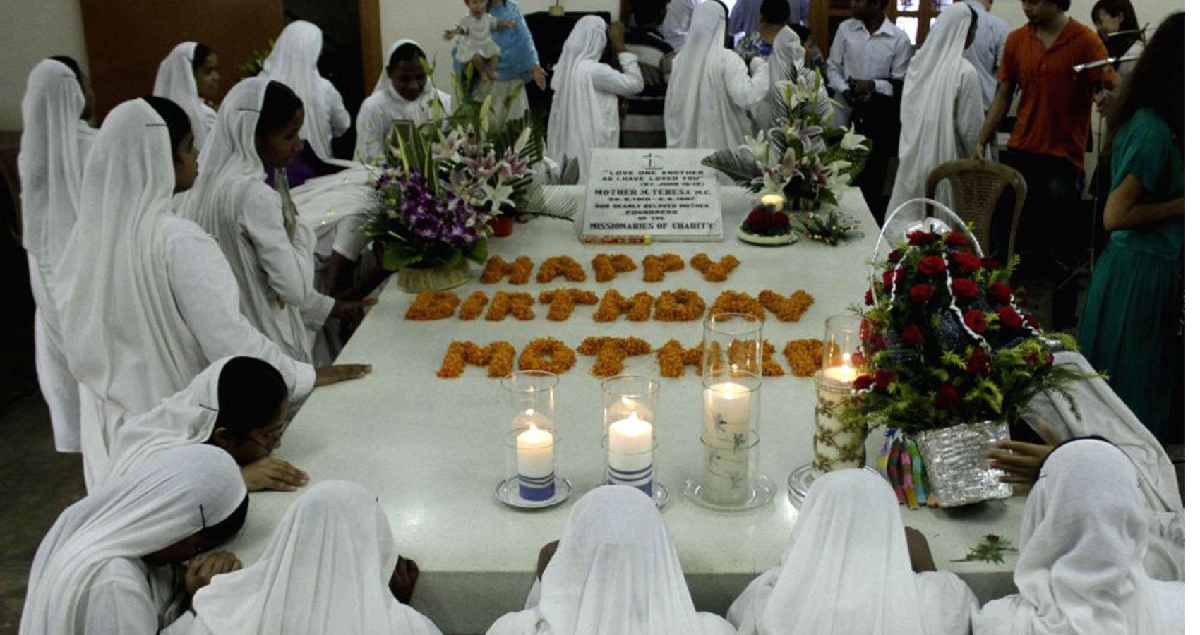 Mother Teresa's Birth Anniversary Celebrated