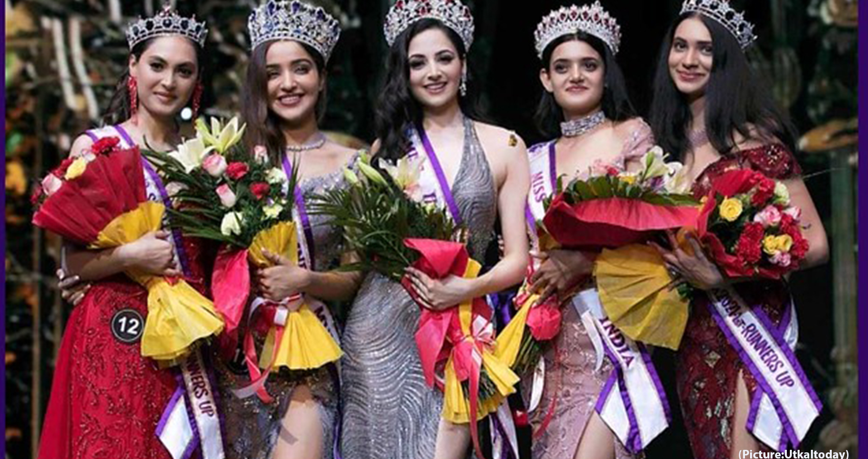 Zoya Afroz Crowned As The Miss India International 2021